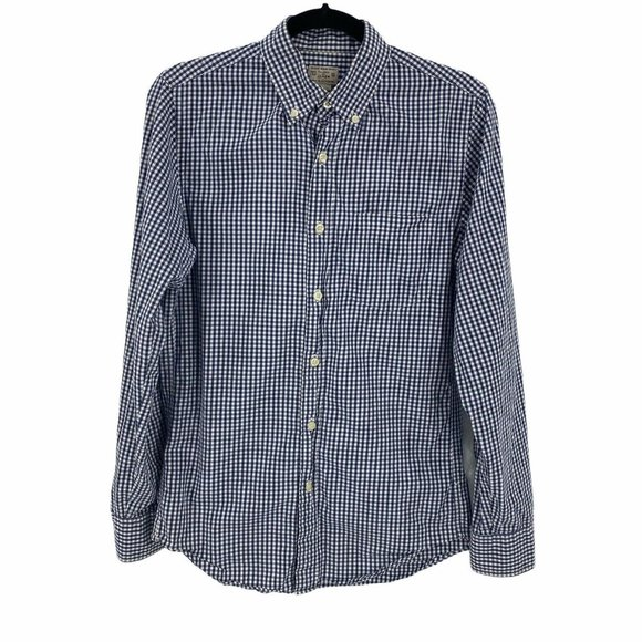 J.Crew XS Washed Shirt Long Sleeve Button Front Up